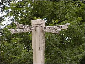detail of Five Mile Drive cross at SP132359