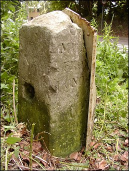 extra detail of Kennet milepost at TL700666